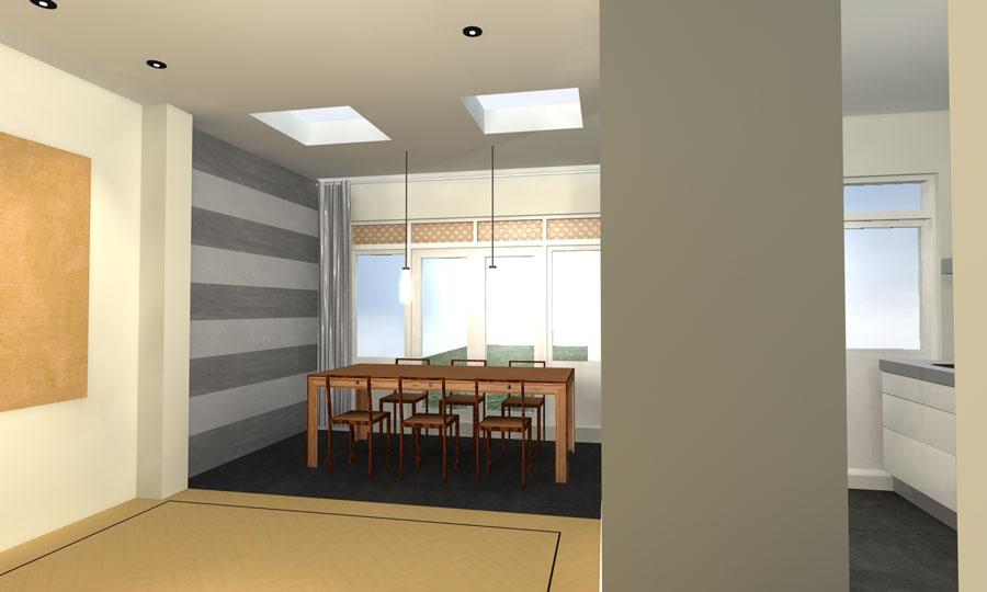 Interieurontwerp woonhuis bussum richarts for Interieurontwerp