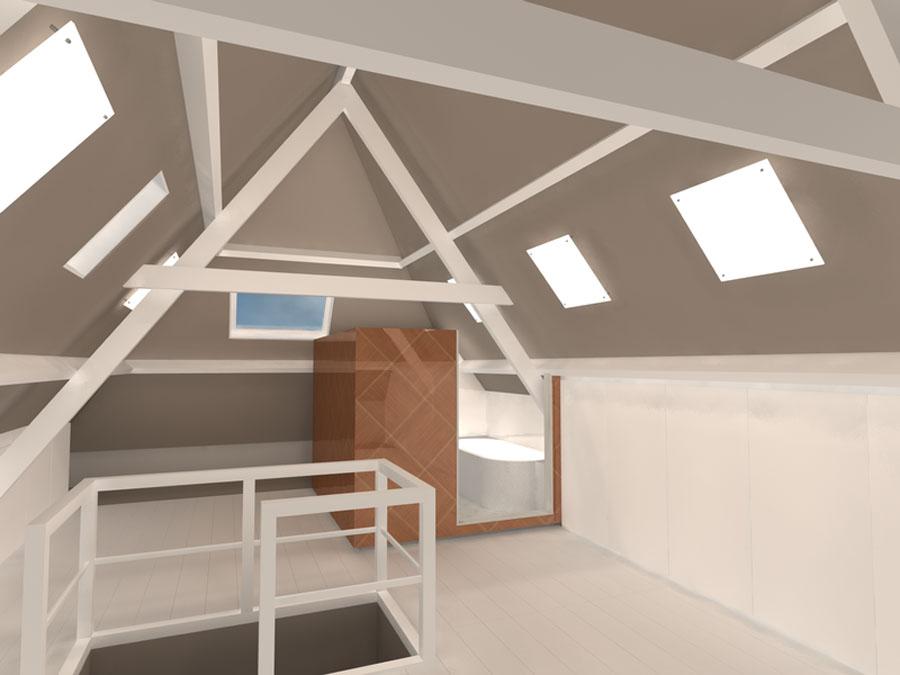 Interieur ontwerp bovenwoning weimarstraat -RichArts