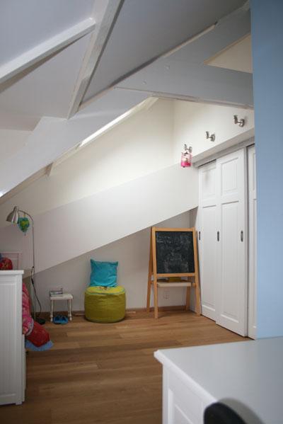 Interieurontwerp zolder voorburg richarts - Maak een mezzanine op de zolder ...