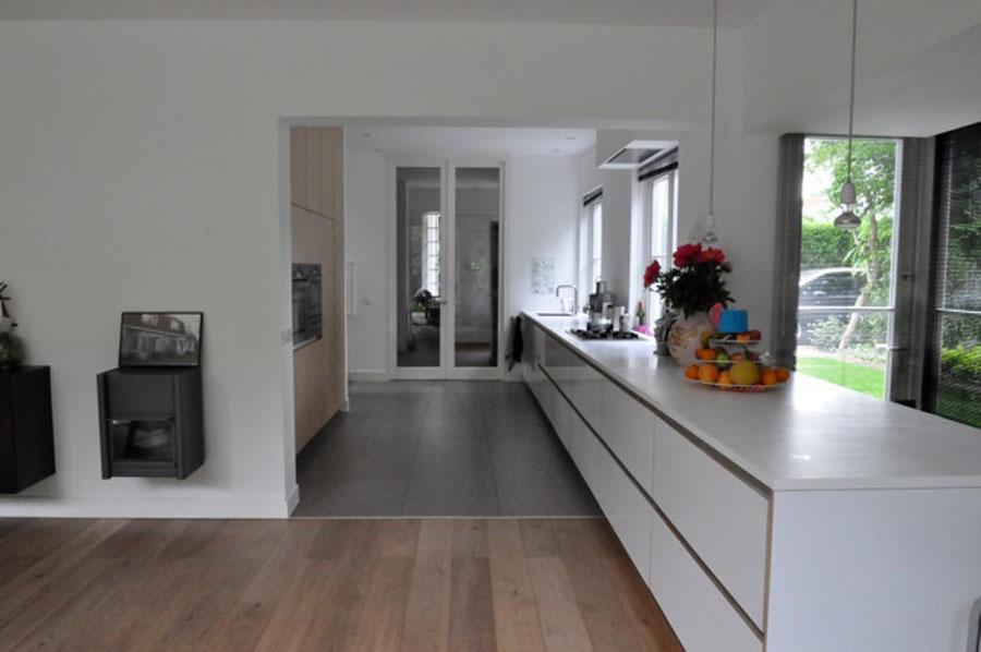 Keuken Van Corian : keuken corian leiden richard koopmans heeft een 8 meter lange keuken