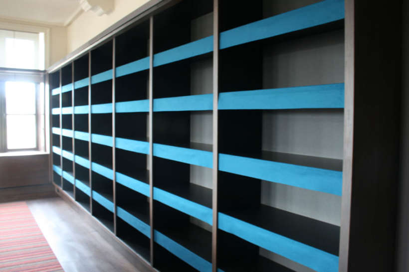 maatwerk boekenkast eerste kamer